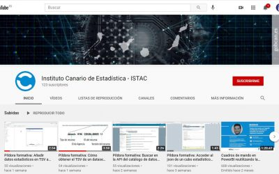Canal de YouTube de ISTAC