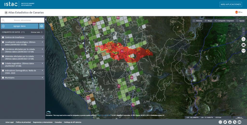 Atlas Estadístico de la Erupción en La Palma